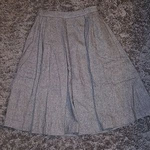 BR wool skirt with lining and pockets sz 6